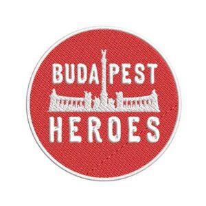 budapest, hősök tere, heroes square, felvasalható hímzett folt, felvarró, patch, foltshop
