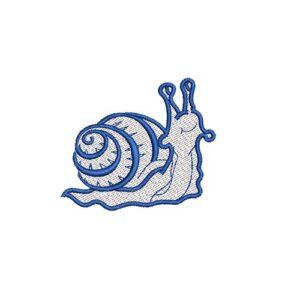 csiga, snail, felvasalható hímzett folt, felvarró, patch, foltshop