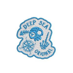 tengerész, kalóz, tenger, seam ocean, vitorlás, sailor, felvasalható hímzett folt, felvarró, patch, foltshop