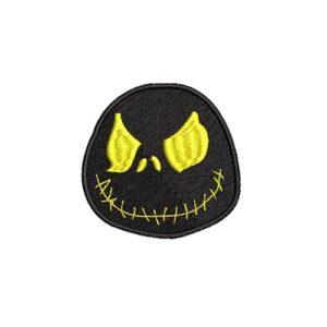 gonosz arc, rém, evil face, scarface, felvasalható hímzett folt, felvarró, patch, foltshop