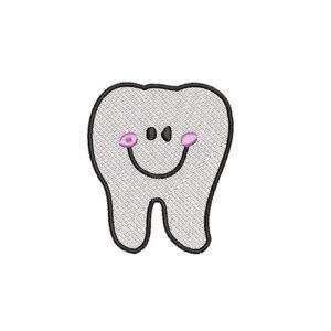 fog, teeth, felvasalható hímzett folt, felvarró, patch, foltshop