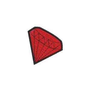 drágakő, jewel, gyémánt, diamond, rubin, ruby, smaragd, emerald, zafír, sapphire, felvasalható hímzett folt, felvarró, patch, foltshop