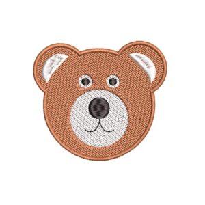 maci, medve, bear, teddy, felvasalható hímzett folt, felvarró, patch, foltshop