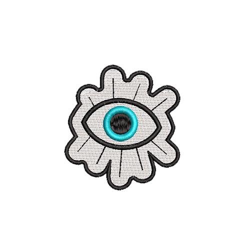 mindent látó szem, all seeing eye, felvasalható hímzett folt, felvarró, patch, foltshop