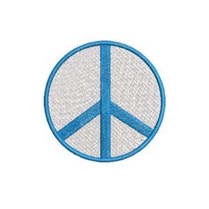 béke, peace, felvasalható hímzett folt, felvarró, patch, foltshop