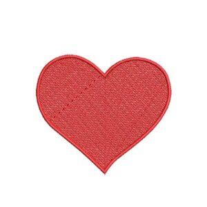 szív, heart, felvarrható, felvasalható hímzett folt, felvarró, patch, foltshop