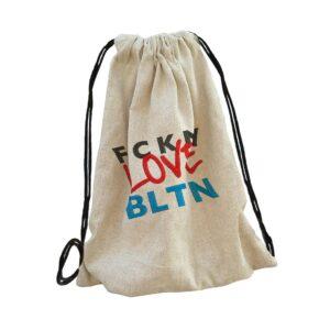 balaton bag backpack, hátizsák hímzett gépi hímzés