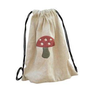 ovis táska, bölcsis, óvodai jeles vászontáska gomba