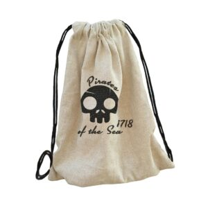 vitorlás kalózos pirate sailor táska bag backpack, hátizsák hímzett gépi hímzés