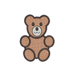 teddy maci felvarrható, felvasalható hímzett folt, felvarró, patch, foltshop