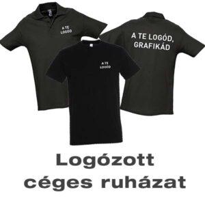logózott céges ruházat, póló