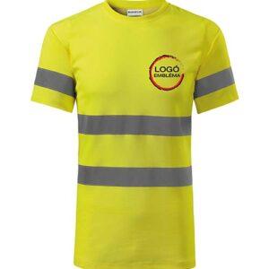 rimeck hv protect láthatósági fényvisszaverő munkaruha póló